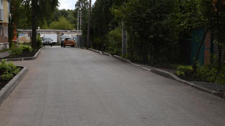 В Узловском районе продолжается реализация нацпроекта «Безопасные качественные дороги»