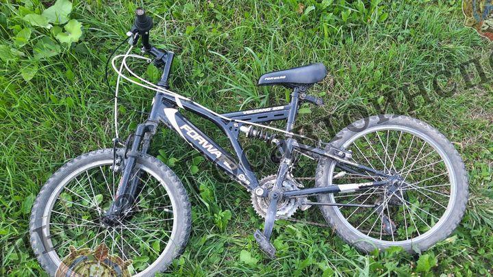 В Новогуровском сбили ребенка-велосипедиста