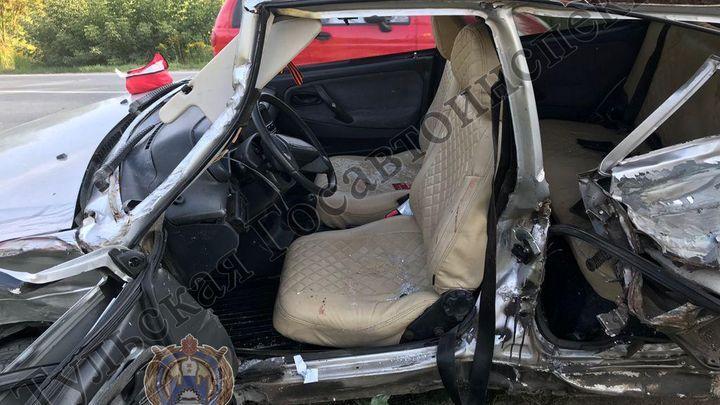 В Щёкинском районе женщина и ребёнок пострадали в ДТП
