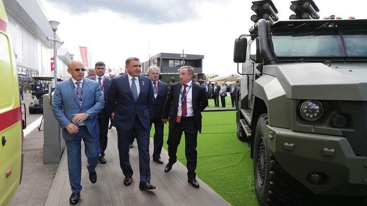 Тульская область готова поделиться опытом диверсификации производства