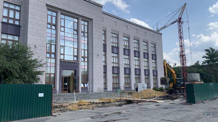 В Туле началось строительство фондохранилища областного музея изобразительных искусств