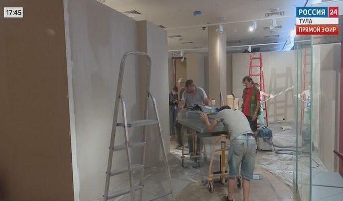 Тульский филиал Государственного исторического музея в Туле готовится к приёму новых экспонатов