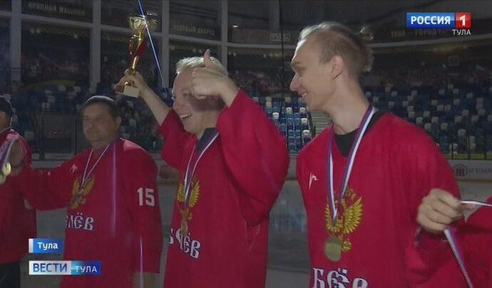 В Туле наградили победителей чемпионата Любительской хоккейной лиги