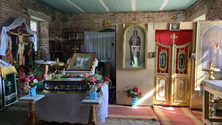 В Ефремове возрождают храм, по преданию заложенный самим святителем Тихоном Задонским