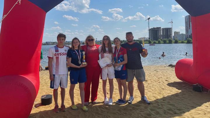 Тулячки заняли два первых места на Кубке РФ по плаванию на открытой воде