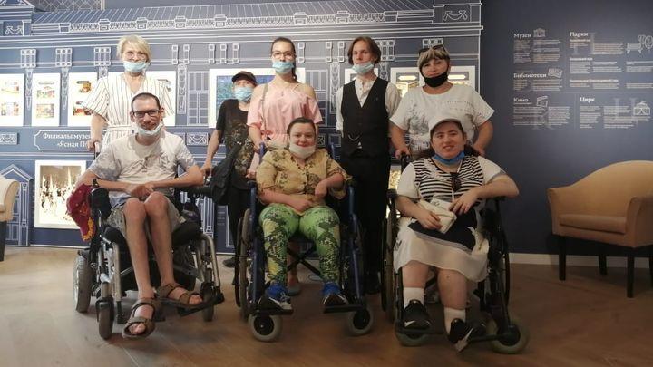 Для них нет ничего невозможного: Новомосковское отделение отметило 33-летие создания общества инвалидов