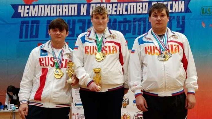 Дубенские спортсмены завоевали медали Чемпионата России по пауэрлифтингу