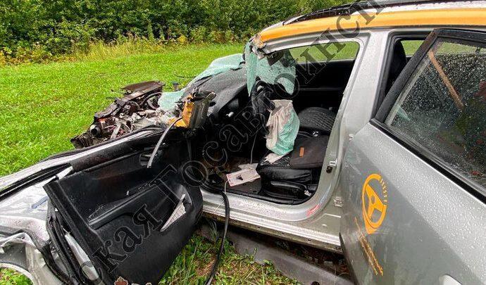 В ДТП под Тулой погиб водитель машины каршеринга