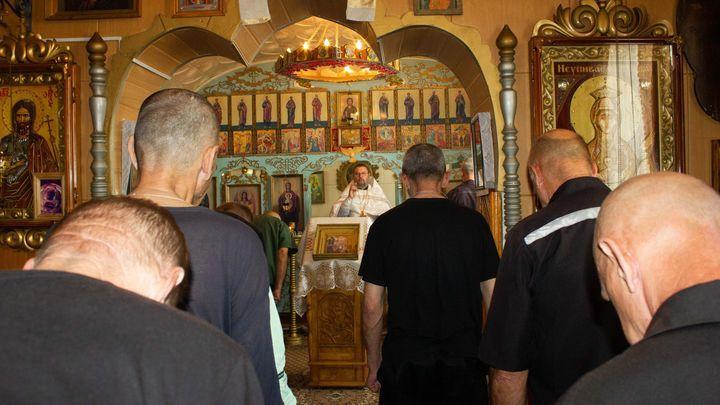 В тульских колониях верующие встретили Преображение Господне