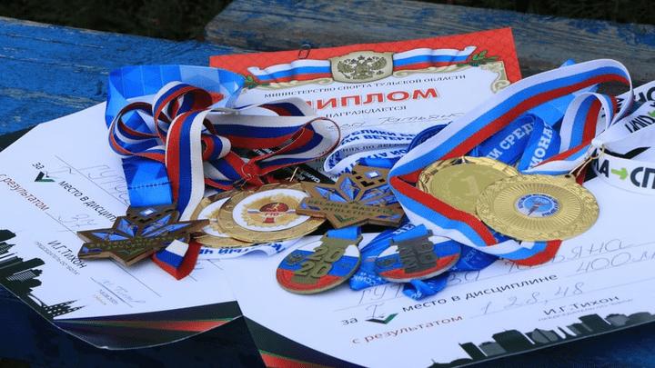«Серебряные спортсмены» из Новомосковска привезли медали международных соревнований