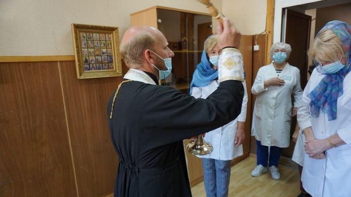 В Тульском Центре по борьбе со СПИД отслужили молебен