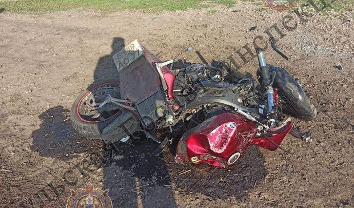 В Ефремове обгон закончился гибелью мотоциклиста
