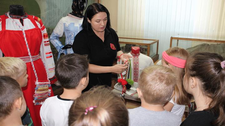 Лапти, сарафаны и передники наших предков теперь можно примерить в краеведческом музее Щекино