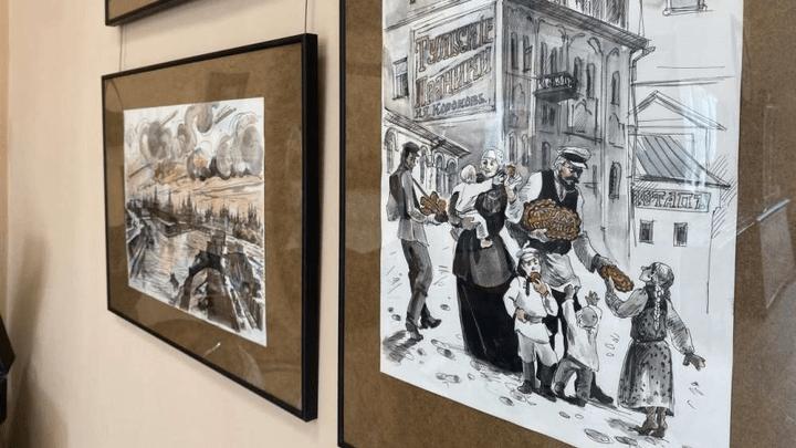 «Тула. Непарадный портрет»: В Веневе открылась выставка картин Оксаны Кагальниковой