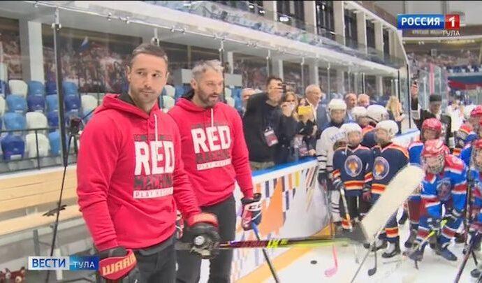 В Туле Овечкин и Ковальчук дали мастер-класс юным хоккеистам перед стартом Кубка губернатора
