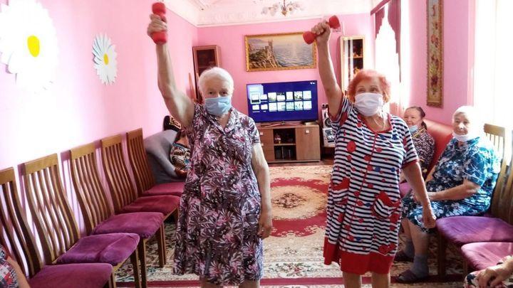 Одоевских пенсионеров учат активному образу жизни