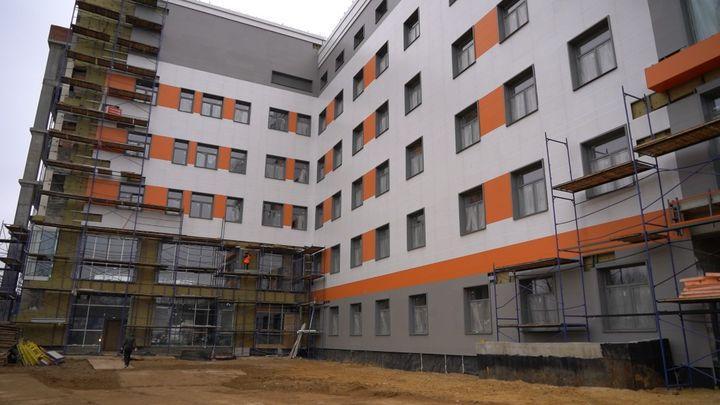 Новый перинатальный центр в Туле откроется в начале 2022 года