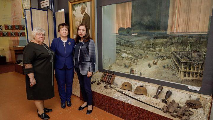 В Щёкине открылась выставка «История создания музея в Малом Пирогове»