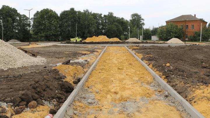 В Новомосковске появится новая многофункциональная спортивная площадка
