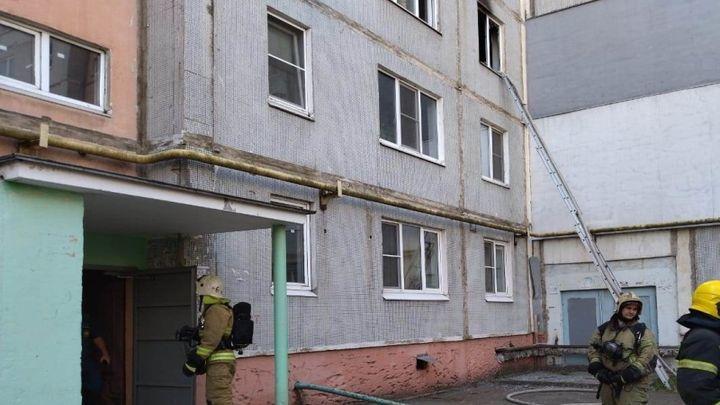 На улице Вильямса в Туле сгорела комната в квартире