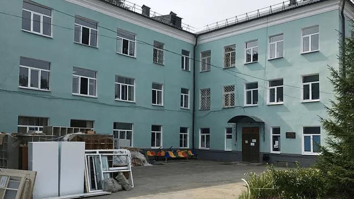 Капитальный ремонт добрался до косогорской поликлиники