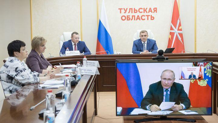 Владимир Путин поставил перед регионами задачи в сфере образования