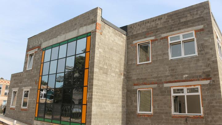 В Алексине завершается строительство нового детского сада