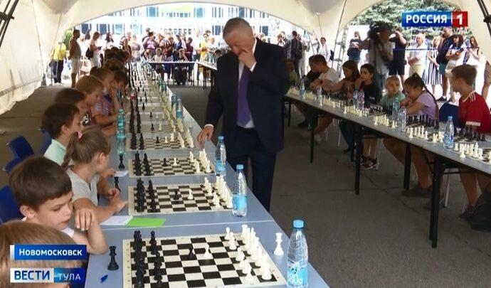 В Новомосковске к 20-летию «ЕвроХима» приурочили шахматный фестиваль