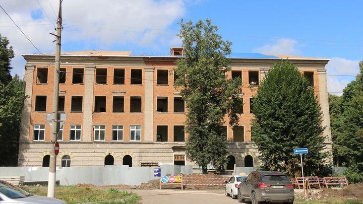В Сокольниках реконструируют школу