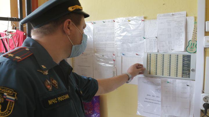 МЧС проверяет избирательные участки в Тульской области