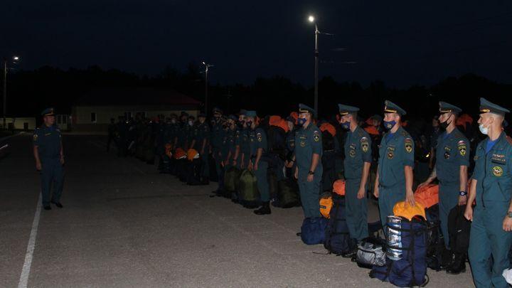 Тульские спасатели отправились тушить пожары в Якутию