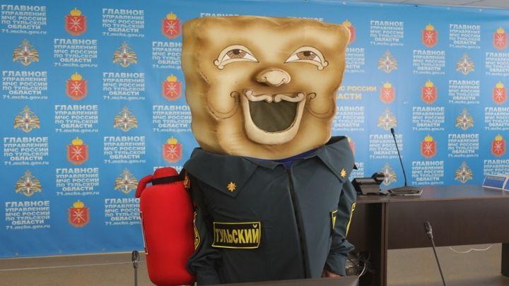 «Тульский Пряник» теперь официальный сотрудник МЧС