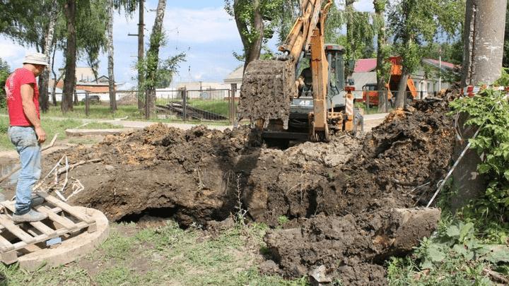 Сотни узловчан остались без воды в результате крупной коммунальной аварии