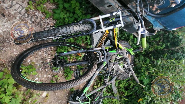 В Алексинском районе пьяный водитель сбил велосипедистов