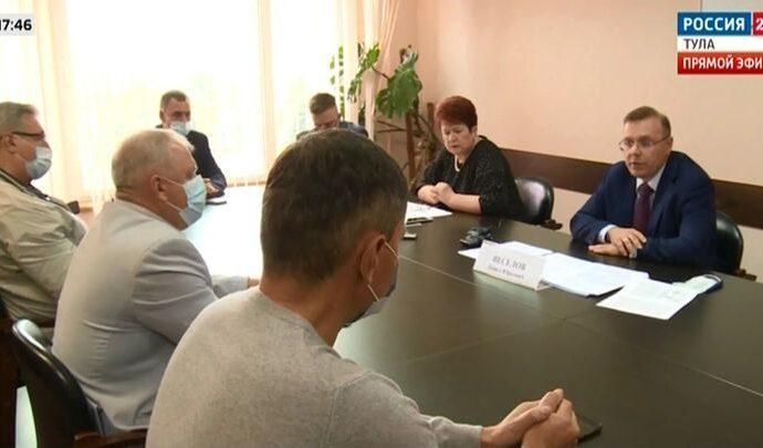 Представители партий обсудили в Тульском избиркоме вопросы подготовки к выборам