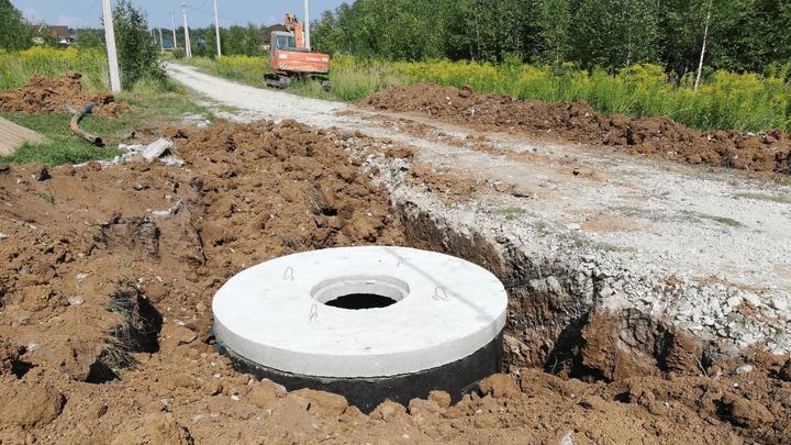 Большая и качественная вода идет в Алексин