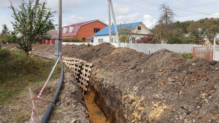 В 2022 году в Узловой построят новый водопровод