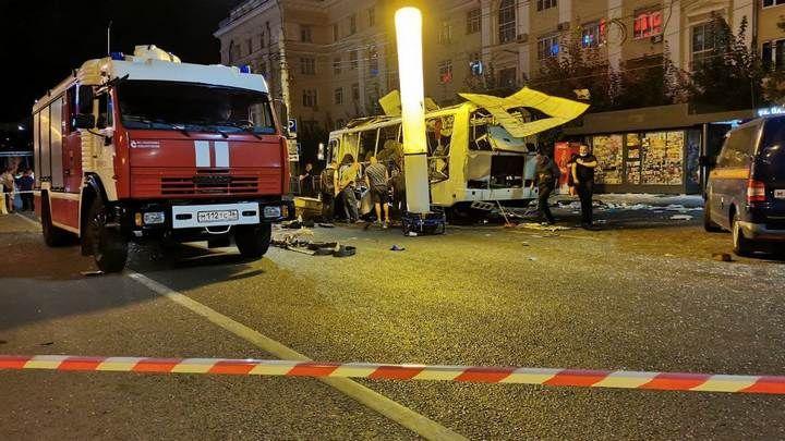 В Туле проверят весь транспорт после взрыва автобуса в Воронеже