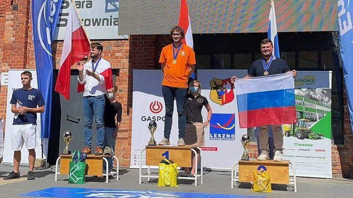 Тульский воздухоплаватель взял «бронзу» юниорского чемпионата мира