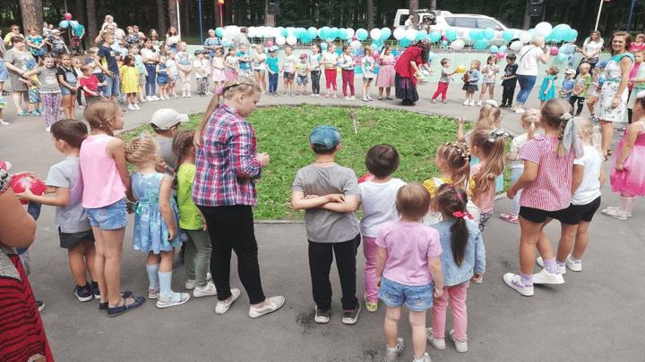 В парке Жалка состоялся праздник в честь 673 лет образования Алексина