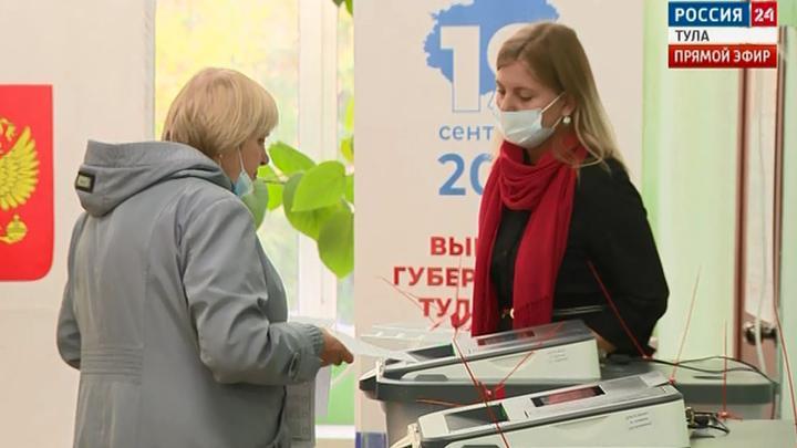 Завершилось голосование на выборах депутатов Госдумы и губернатора Тульской области