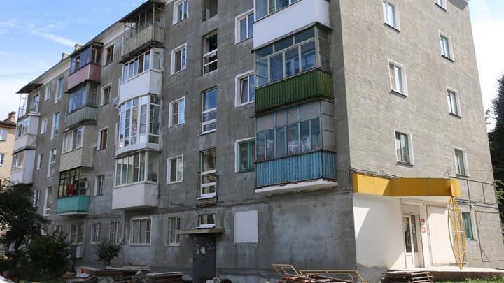 В Новомосковске продолжаются работы по капитальному ремонту домов