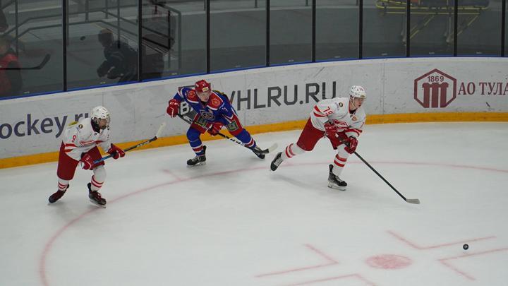 «Академия Михайлова» проиграла «Спартаку» в повторном домашнем матче МХЛ