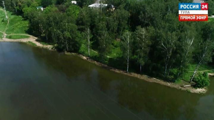 В Рогожинском парке Тулы появится набережная