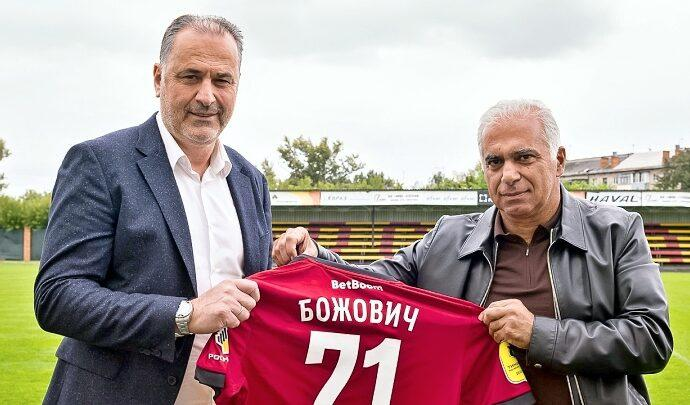 Миодраг Божович и Гурам Аджоев