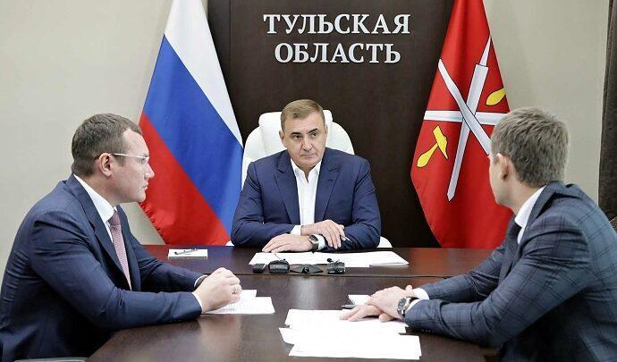 Губернатор Тульской области Алексей Дюмин провёл рабочее совещание по поводу внесения изменений в региональный бюджет