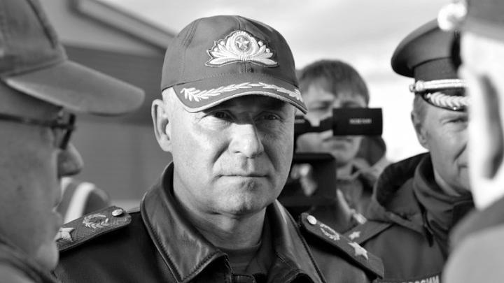 Евгений Зиничев, последнее фото, пресс-служба МЧС