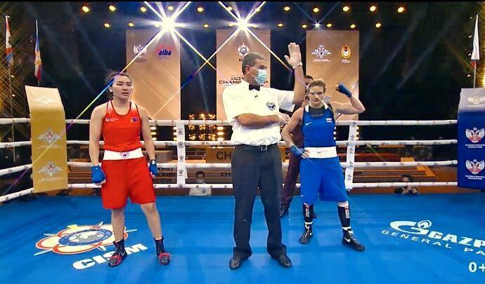 Дарья Абрамова – чемпионка мира среди военнослужащих
