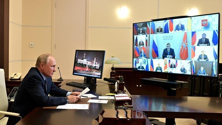 Владимир Путин пообщался с избранными главами регионов