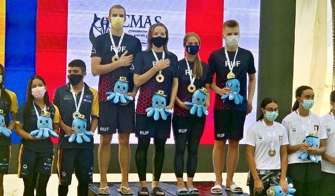 Тульские пловцы в ластах завоевали «золото» и «серебро» на старте первенства мира